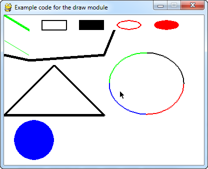 how to draw an octagon in python